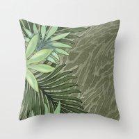 A Run Through the Jungle Throw Pillow