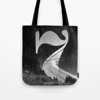 Lucky Seven Fade BEACH Tote Bag