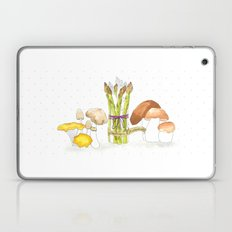 asparagus and mushrooms Laptop & iPad Skin