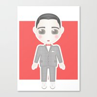 Pee-Wee Herman Canvas Print