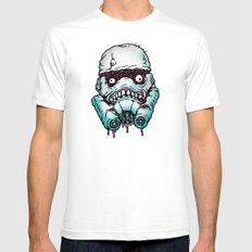 Monster Trooper Mens Fitted Tee White SMALL