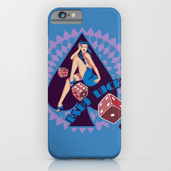 Lady Luck iPhone & iPod Case