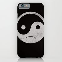 iPhone & iPod Case featuring yin yang smiley ;-( by frederic levy-hadida