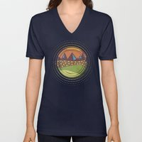 Color/Landscape 8 Unisex V-Neck