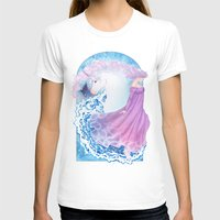 Last Unicorn Womens Fitted Tee White SMALL