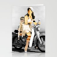 Stationery Cards featuring CardinalsRoller Collage by Marko Köppe