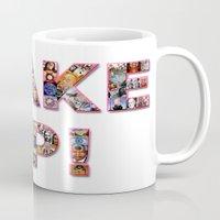WAKE UP!  Mug
