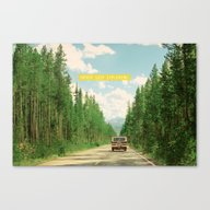 NEVER STOP EXPLORING IV Canvas Print