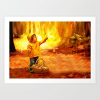 The Little Collector - P… Art Print