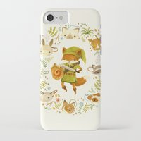 floral iPhone & iPod Cases featuring The Legend of Zelda: Mammal's Mask by Teagan White