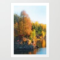 Changing Color Art Print