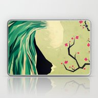 Laptop & iPad Skin featuring Falling In Love by Yetiland
