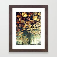 Every Time I See You Falling Framed Art Print
