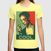Cool Coolcoolcool Womens Fitted Tee Lemon SMALL