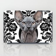 iPad Case featuring Sphynx Cat - Decorative by Mark Matlock