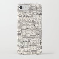 city iPhone & iPod Cases featuring city by rubyetc