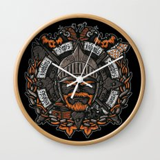 GNG CREST Wall Clock