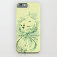 iPhone & iPod Case featuring vegetation meditation by Yes Menu