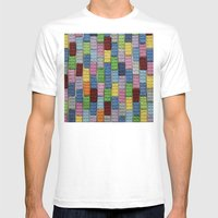 Bricks Zoom Mens Fitted Tee White SMALL