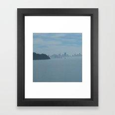 San Francisco Through Th… Framed Art Print