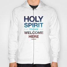 Holy Spirit: Blue Cyan Red Hoody