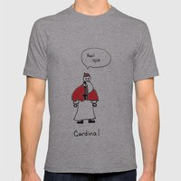Cardinal Mens Fitted Tee Athletic Grey SMALL