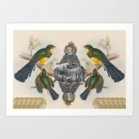 In Her Majesty's Service… Art Print