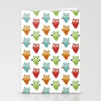 Owl Fun Stationery Cards