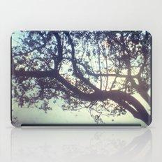 Sunset trees iPad Case