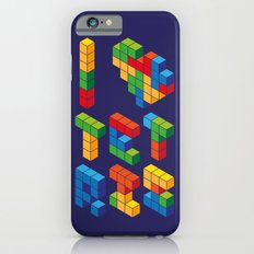 I Heart Tetris iPhone 6 Slim Case
