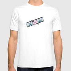 Aeroplano White Mens Fitted Tee SMALL