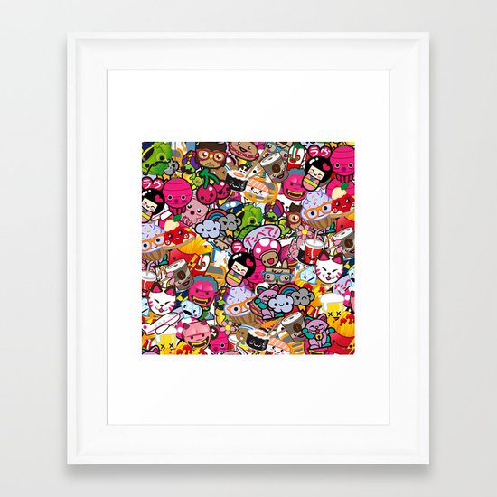 Supercombo #2 Framed Art Print