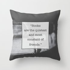 Books: The Quietest and Most Constant Throw Pillow