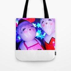 Merry Kokeshi Klause Tote Bag