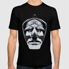 mamuthones Mens Fitted Tee Black SMALL
