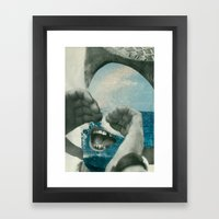 Sea Spray Framed Art Print
