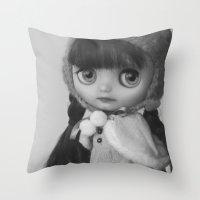 Maya, Middie Blythe Doll Throw Pillow