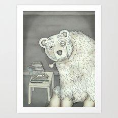 polar opposite. Art Print