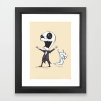 Invader Jack!  Framed Art Print