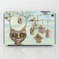 Bird Houses iPad Case