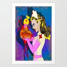 DONUT BABE 300 Art Print