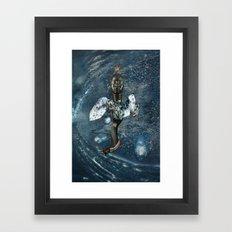 N E P T U N E Framed Art Print