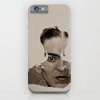 FRIDA - SHIRT version - sepia iPhone 6 Slim Case