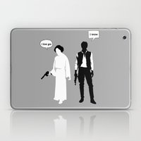 I Love You. I Know Laptop & iPad Skin