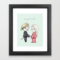 As You Wish Framed Art Print