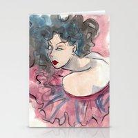 Elegant Fashion Stationery Cards