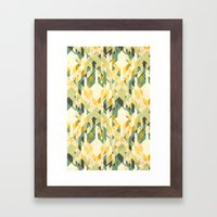 Des-integrated Tartan Pa… Framed Art Print