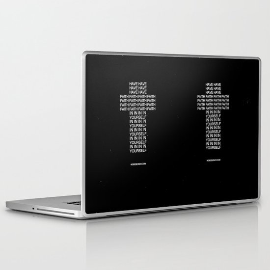 Faith Laptop & iPad Skin