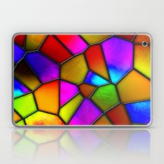 clown stained glass Laptop & iPad Skin