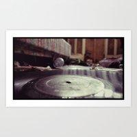 Vinyl Carpet Art Print